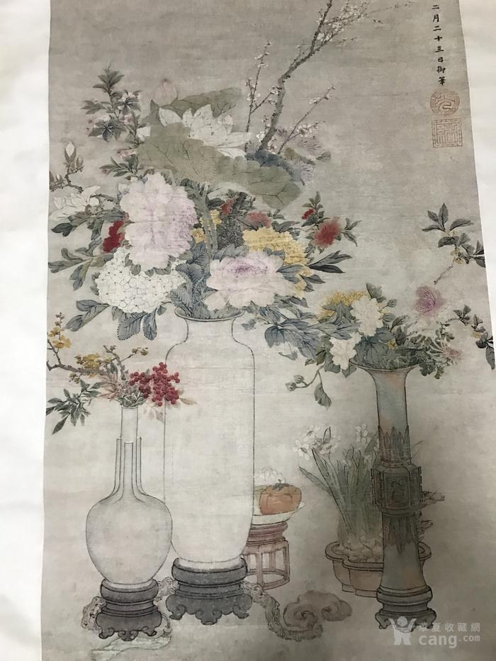 清末时期花卉静物工笔画图6