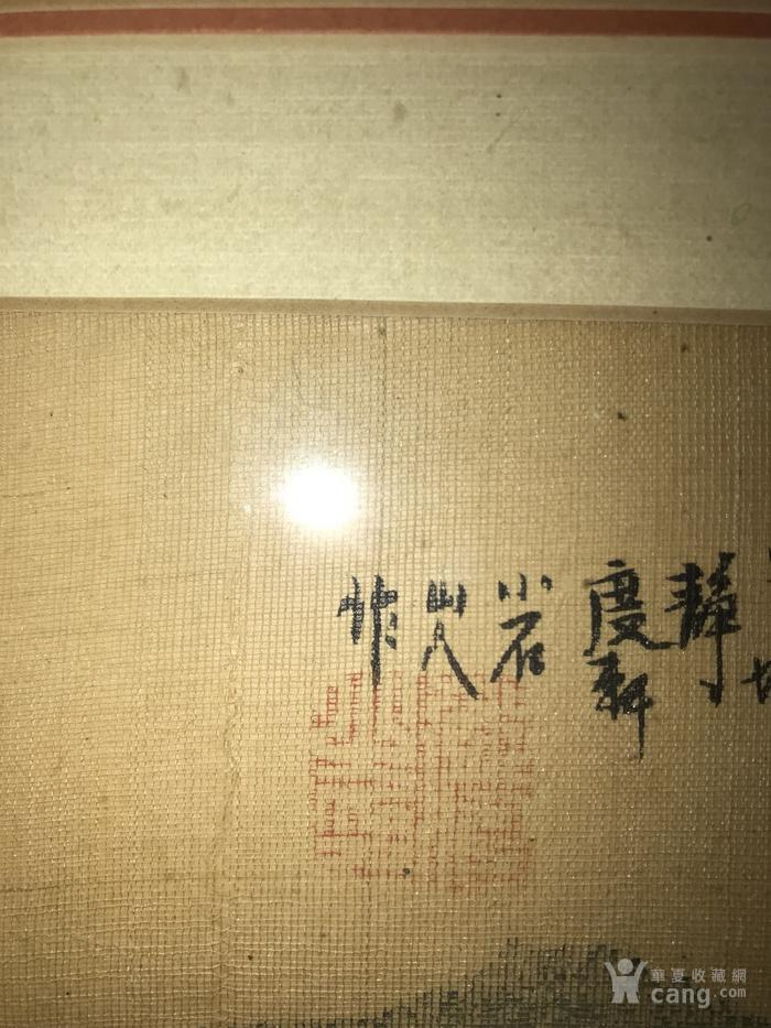 疑似清代画家邓涛绢本 吴山大观图8