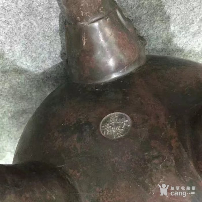 特大号型紫铜香熏炉图9