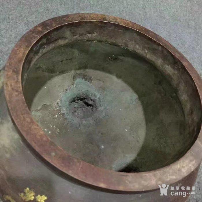 特大号型紫铜香熏炉图8