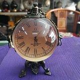 黄铜水晶球西洋钟
