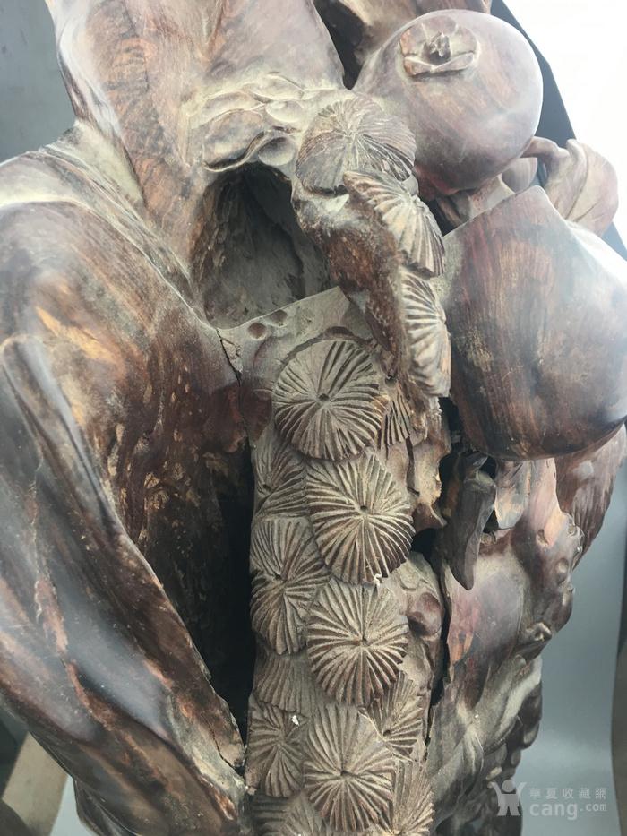 华夏古玩城 木器 酸枝 > 寿星雕刻木摆件  交易声明交易流程汇款方式