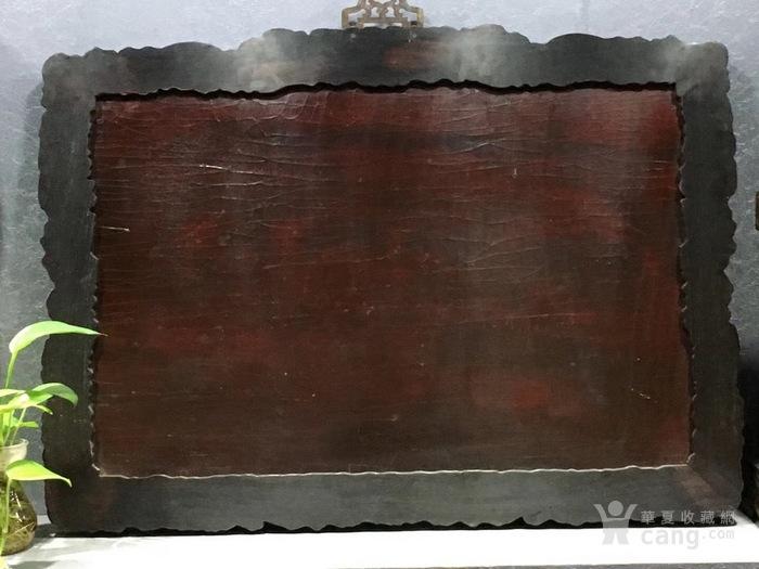 龙 边黄漆灰段百宝嵌挂瓶 长95Cm厚5Cm高68cm图9