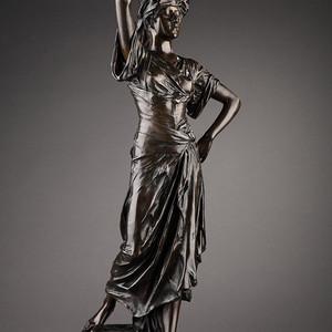 19世纪法国雕塑大师E.DROUOT 欧洲雕塑精品