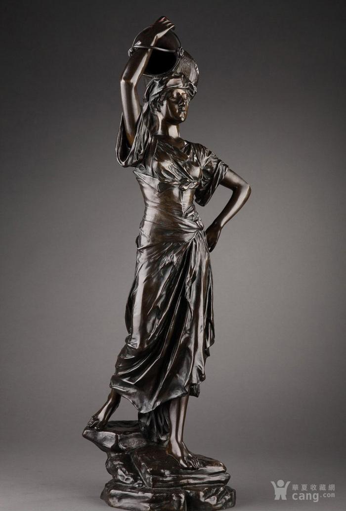 19世纪法国雕塑大师E.DROUOT 欧洲雕塑精品图1