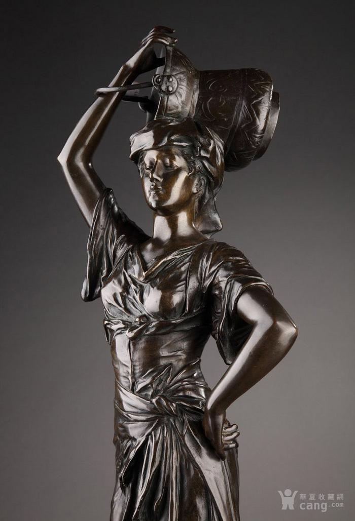 19世纪法国雕塑大师E.DROUOT 欧洲雕塑精品图3