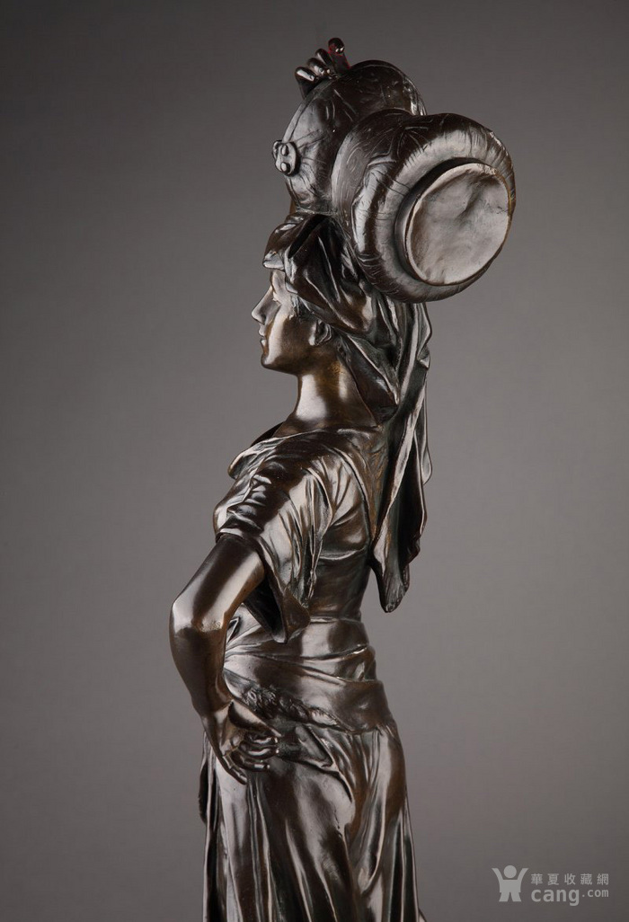 19世纪法国雕塑大师E.DROUOT 欧洲雕塑精品图4