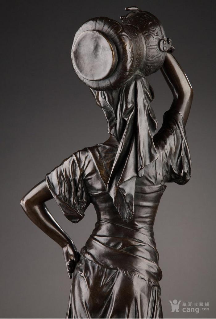 19世纪法国雕塑大师E.DROUOT 欧洲雕塑精品图5