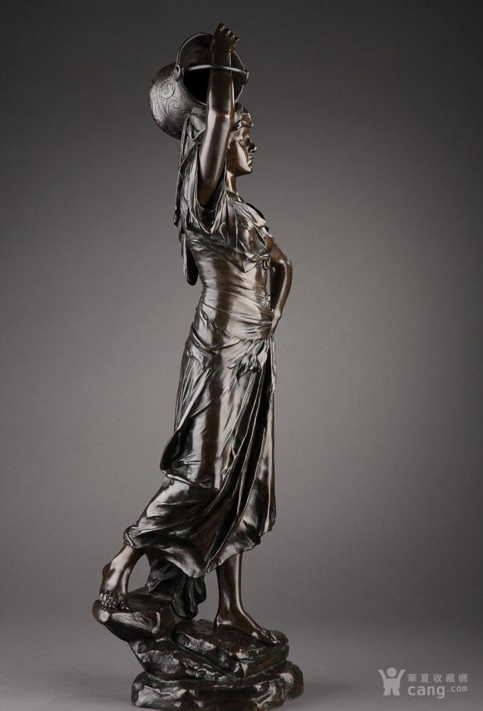19世纪法国雕塑大师E.DROUOT 欧洲雕塑精品图8