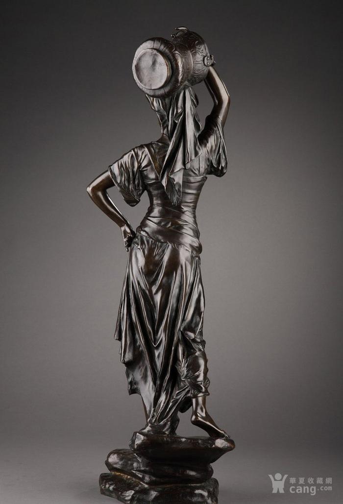 19世纪法国雕塑大师E.DROUOT 欧洲雕塑精品图9