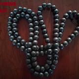 沉香108颗佛珠单珠直径1.6珠子