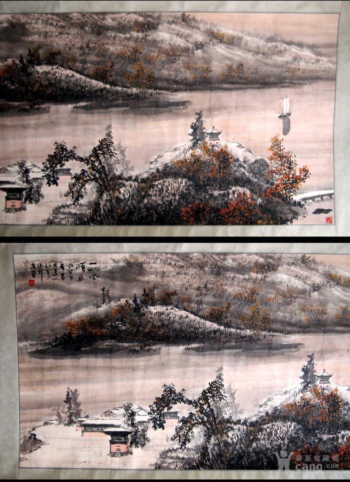 当代  江西著名书画大师  林峰 《一帆风顺图》图2