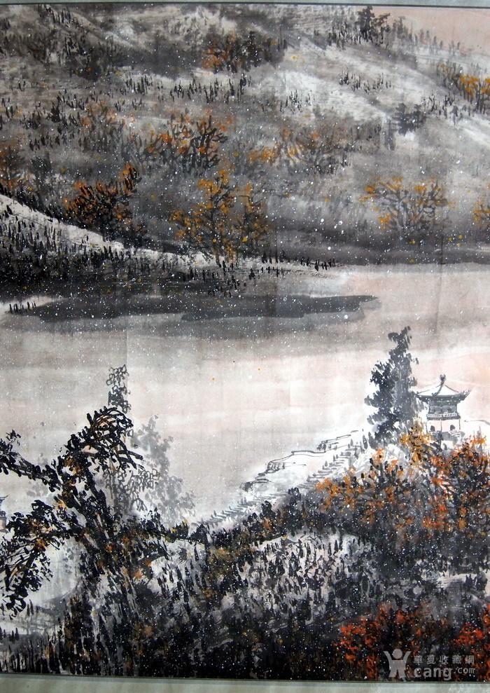 当代  江西著名书画大师  林峰 《一帆风顺图》图4