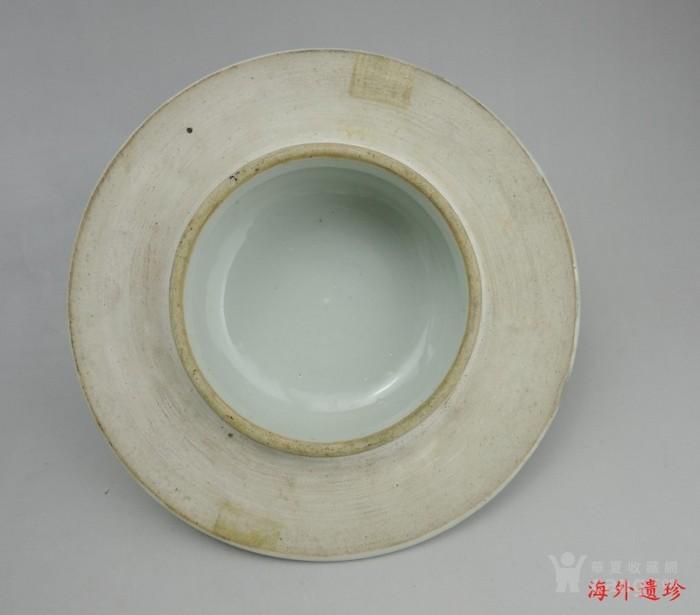 清代 细路粉彩凤凰牡丹四系大将军罐图10
