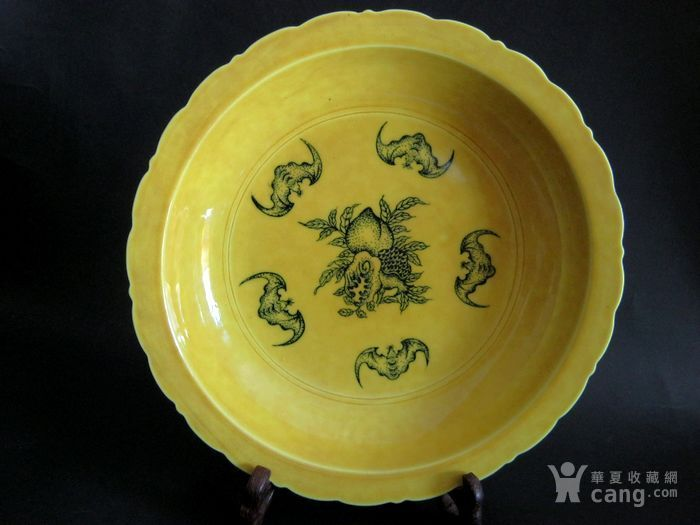 鸡油黄多子多福盘图2