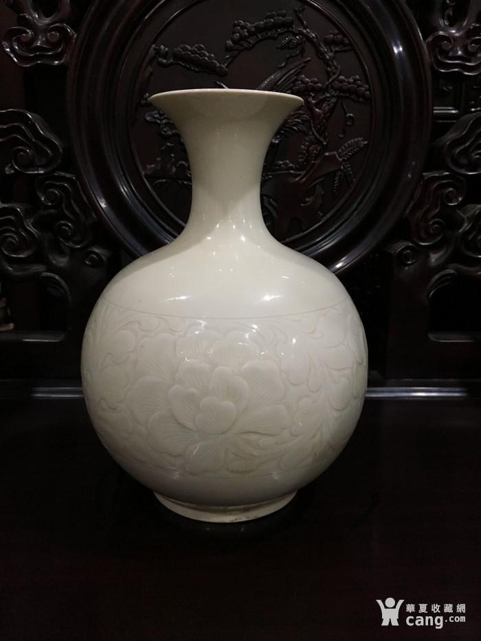 定窑刻花瓶 宋 图4