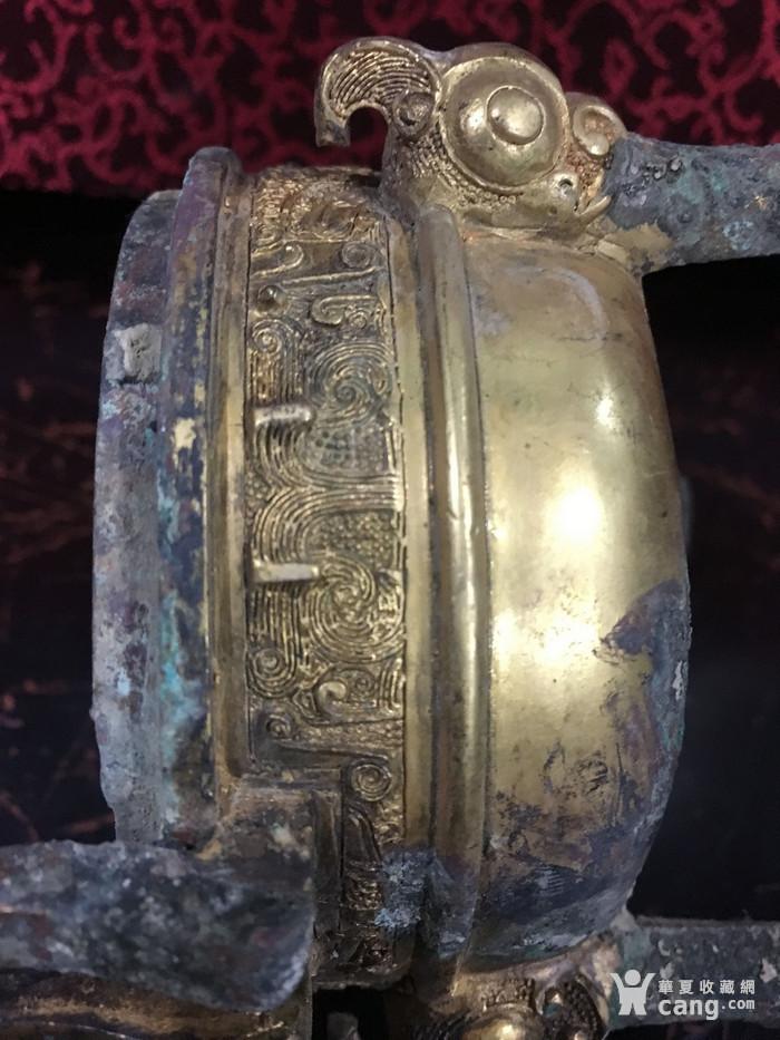 铜鎏金三足鼎图8