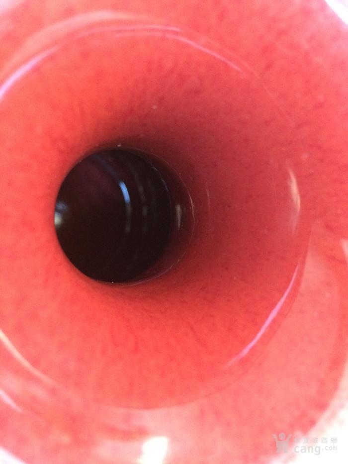 祭红釉瓶图3