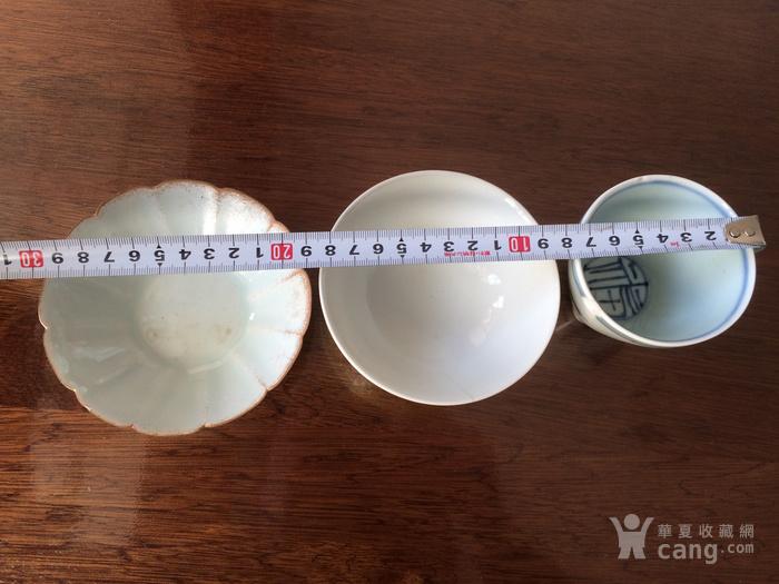 粉彩碗青花杯影青洗图5