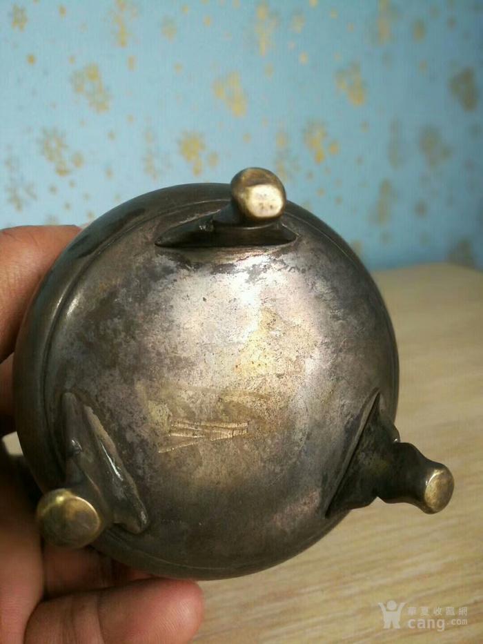 民国   铜香薰炉图8