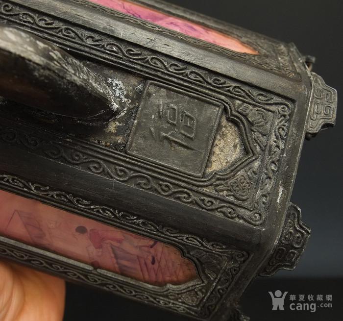 清代 铜提梁壶 三件包国际邮费 图9