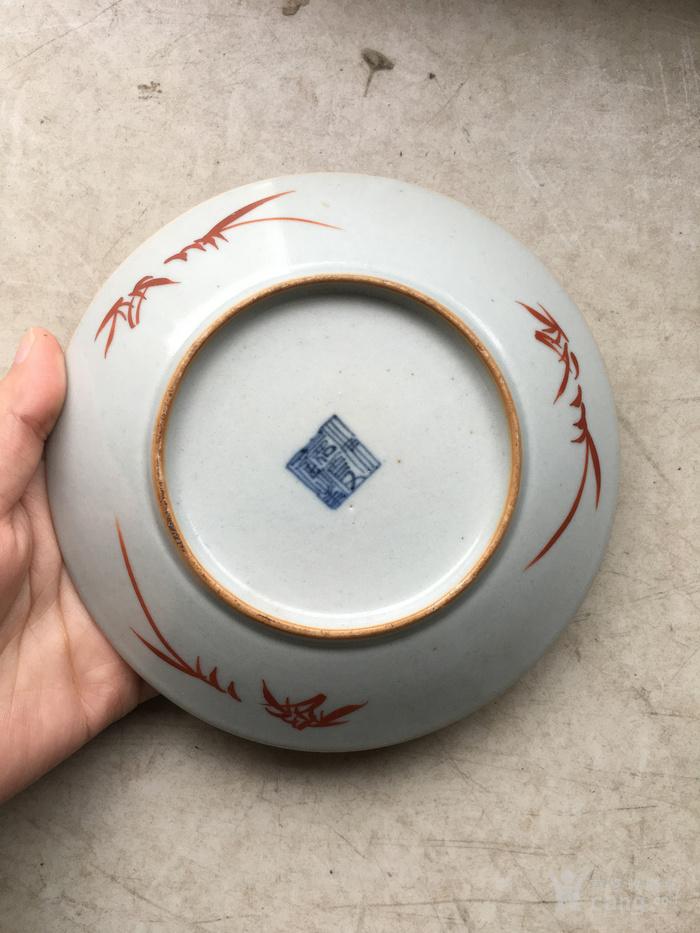 仿石纹瓷碟图2
