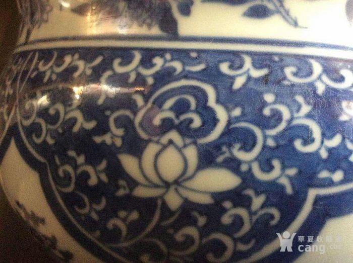 清顺治青花瓷香炉图6