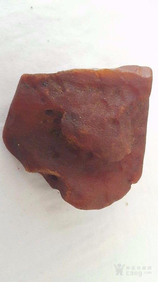 特价:原矿枣皮红老蜜蜡原石47.1克 谢绝大幅议价图7