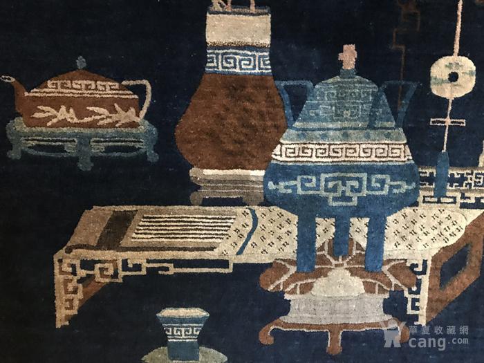 220厘米 收藏级别 庚申年 清中期 清供图 壁毯图9