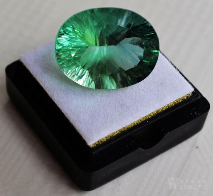 绿萤石 巴西纯天然绿萤石20.60克拉图1