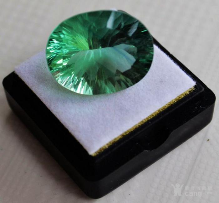 绿萤石 巴西纯天然绿萤石20.60克拉图4