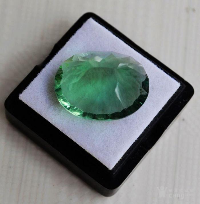 绿萤石 巴西纯天然绿萤石20.60克拉图5