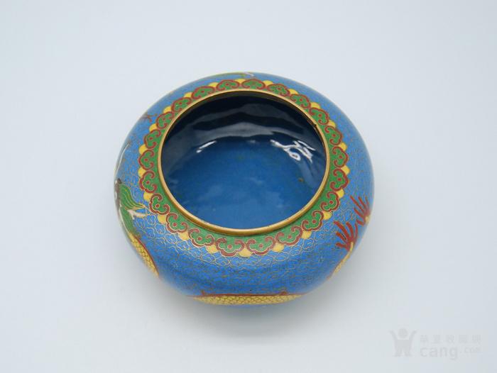 铜胎景泰蓝盖盒c72.20图6