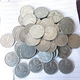 国徽一元40枚2