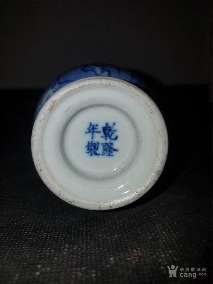 青花鸟小瓶图5