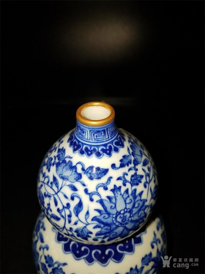 青花缠枝葫芦瓶图2