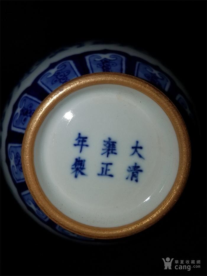 青花缠枝葫芦瓶图5
