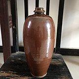 瓷器酱釉瓶