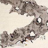 刘艺 江苏省美术家协会会员 受教于喻继高 工笔花鸟 太湖石2