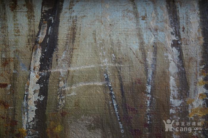 欧洲老油画带签名图9