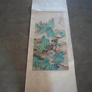 黄山寿山水