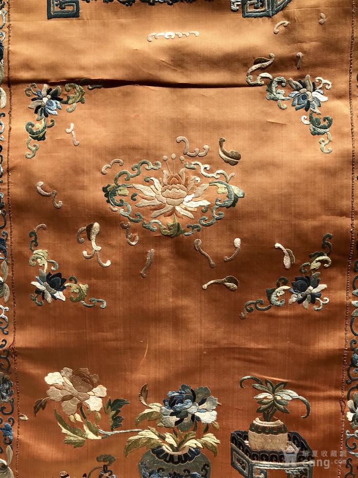 清代 博古 精品 绣品 一件。图4