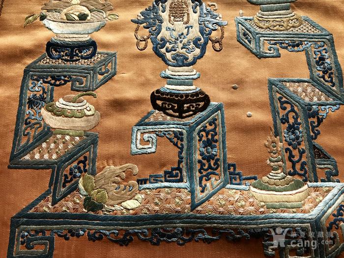 清代 博古 精品 绣品 一件。图8