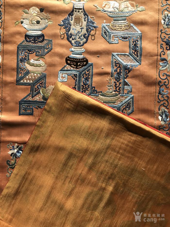 清代 博古 精品 绣品 一件。图11