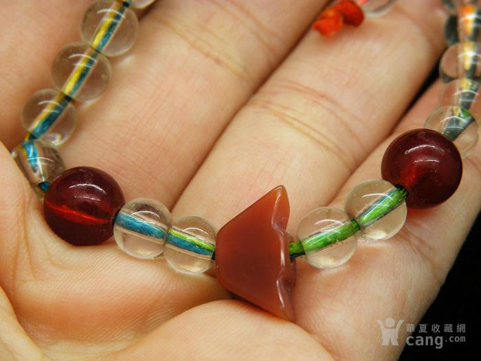 玛瑙水晶南红手串N1846图3