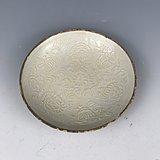 宋瓷 酱釉印花盘