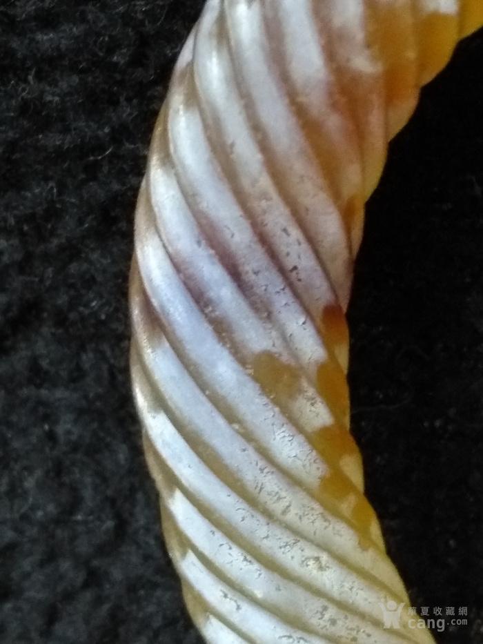 老满沁玛瑙绞丝环图6