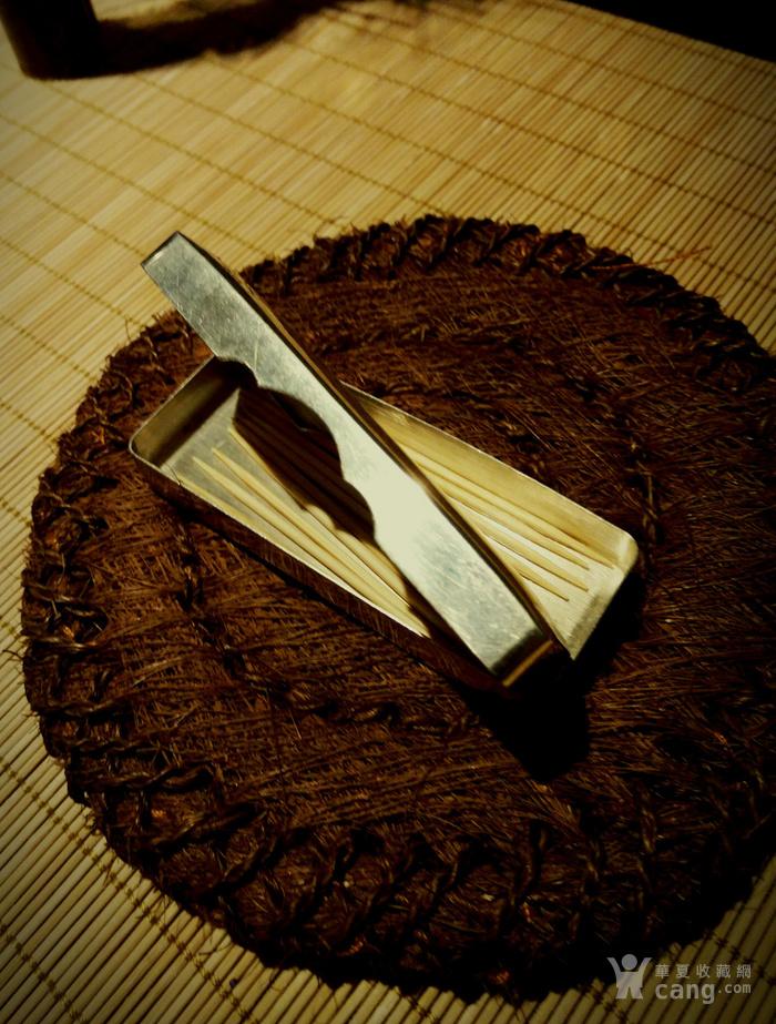 542 日本雕刻小银盒 纯银制做名手工刻图4