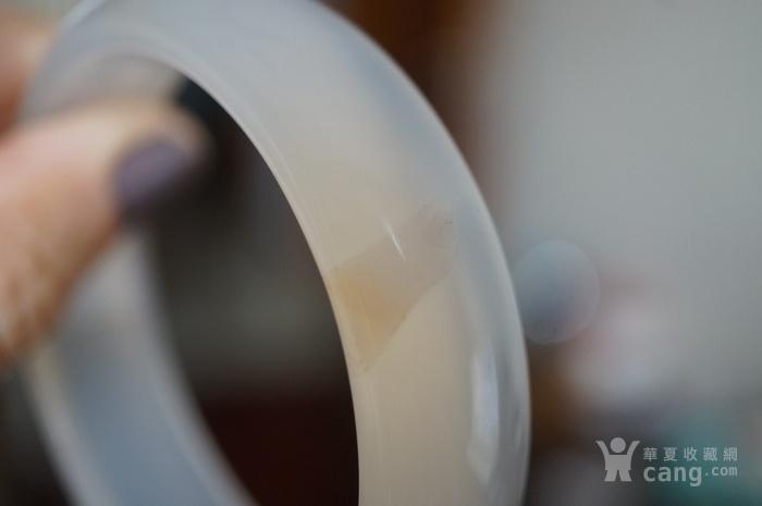 白玛瑙手镯图7