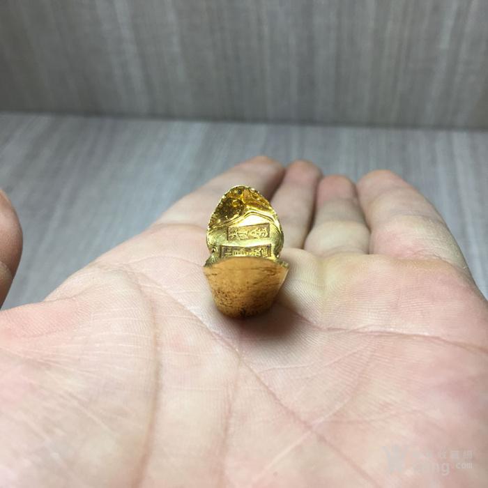 清晚民国吉林昌盛号赤金纯金金器钱币收藏图3